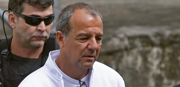 5.jun.2018 - O ex-governador do Rio de Janeiro, Sérgio Cabral (MDB)