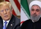 Montagem com AFP e Presidência do Irã