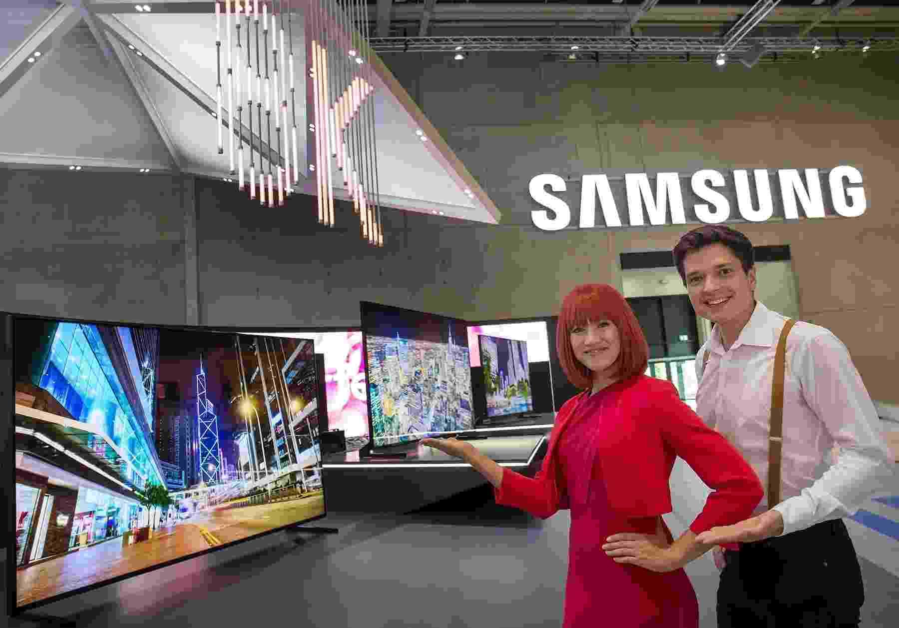 Nova TV da Samsung QLED 8K - Divulgação