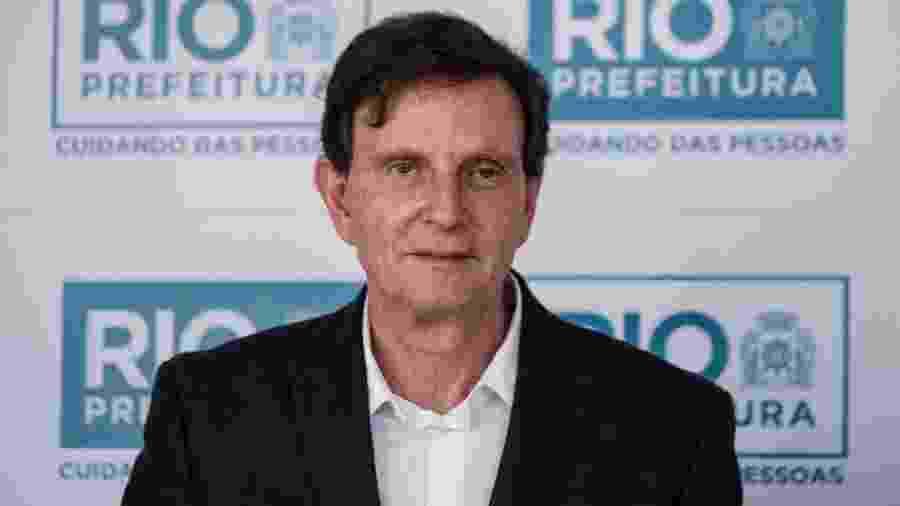 19.jun.2017 - O prefeito do Rio de Janeiro Marcelo Crivella - Yasuyoshi Chiba/AFP
