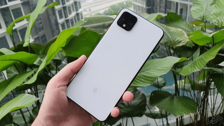 Traseira do Pixel 4 e Pixel 4 XL deverá ter estilo semelhante ao do iPhone 11 - Reprodução