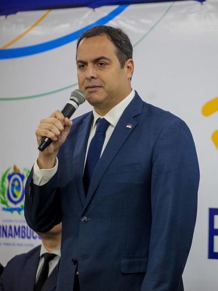 21.out.2019 - Governador do Pernambuco, Paulo Câmara  - Thiago Lemos / Fotoarena