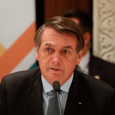 27.jan.2020 - O presidente Jair Bolsonaro - Alan Santos/PR