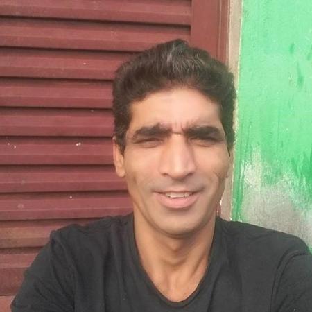 Evaldo Araújo Chaves, 48, que teve a cabeça perfurada por larvas - Arquivo pessoal