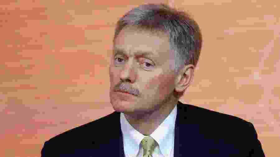 """Segundo o porta-voz do Kremlin, Dmitry Peskov,  """"não há necessidade de culpar os russos de forma tão infundada por tudo"""" -"""