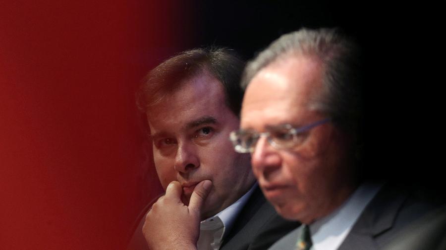 """Maia: """"Guedes já está correndo atrás do próprio rabo, fazendo o que o Bolsonaro quer para não perder o emprego"""" - Amanda Perobelli/Reuters"""