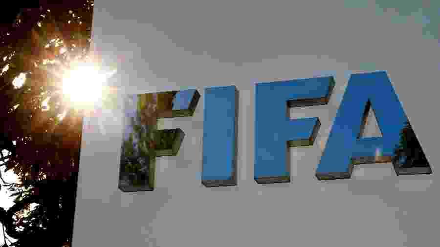 Logo da Fifa - Arnd Wiegmann