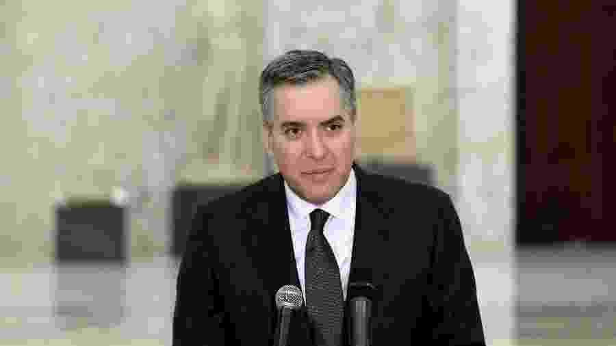 Mustapha Adib, primeiro-ministro libanês designado para formar um novo governo no Líbano, apresentou sua renúncia - DALATI AND NOHRA/AFP