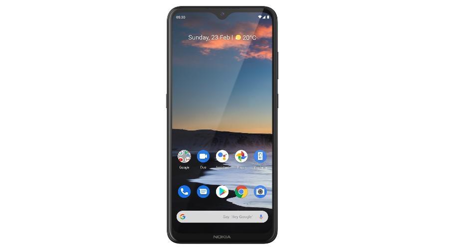 Nokia 5.3 é um celular intermediário da HMD Global - Divulgação