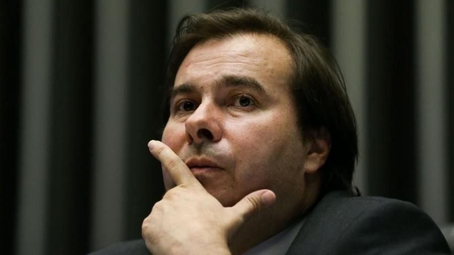 Deputado Rodrigo Maia: depois de muito desgaste provocado pela máquina de moer reputações, chega-se à conclusão de que não há prova - Marcelo Camargo / Agência Brasil