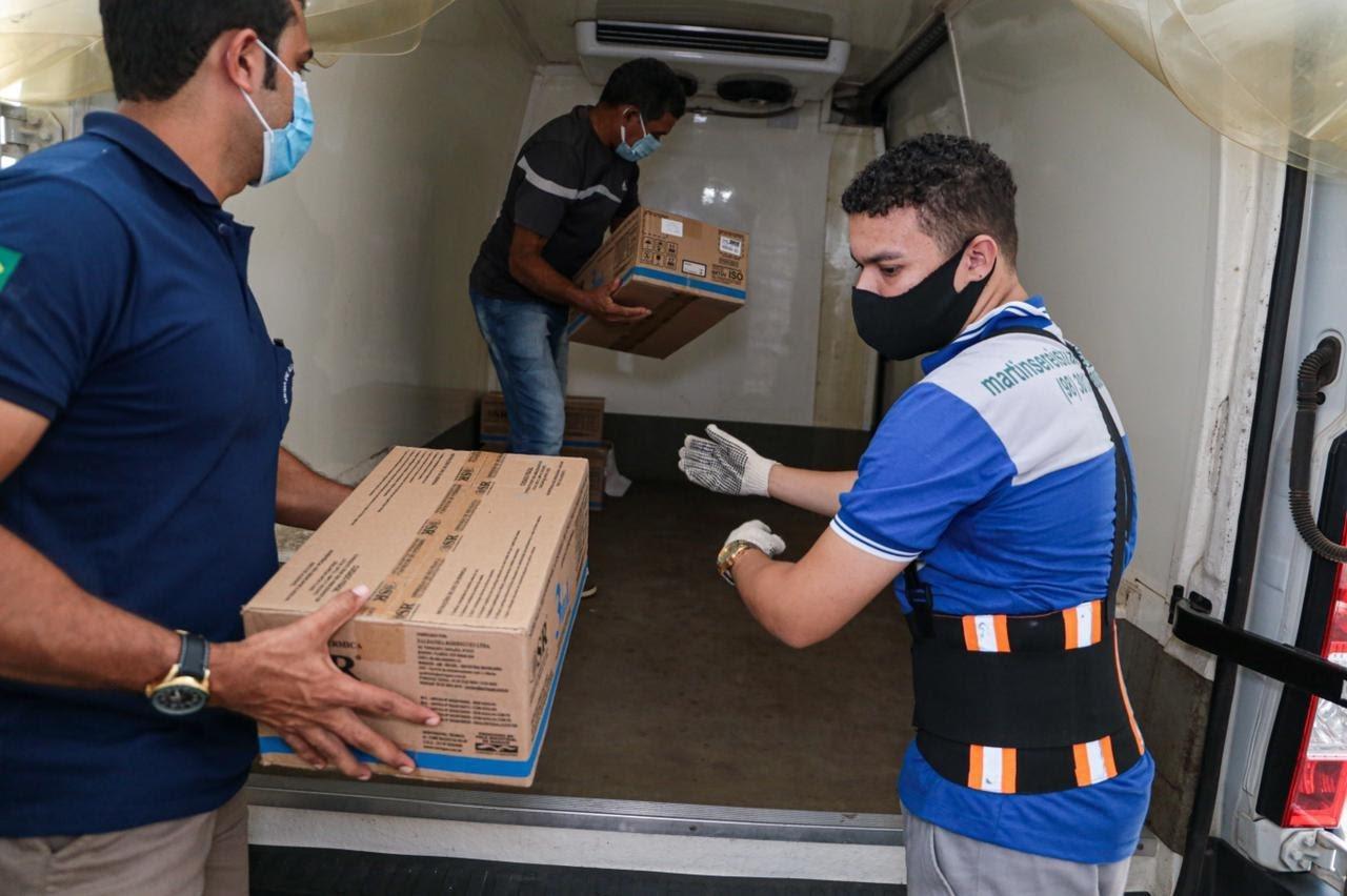 Maranhão inicia distribuição de seringas e agulhas aos municípios