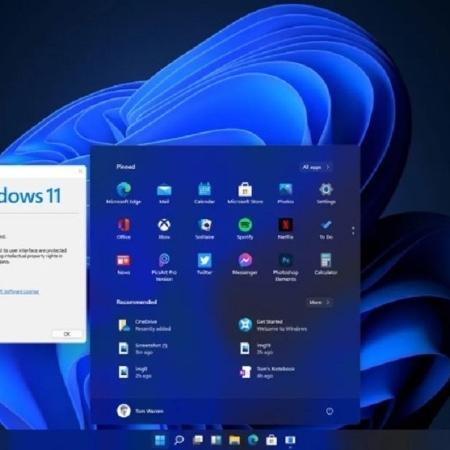 Possível visual do Windows 11 - Reprodução/The Verge
