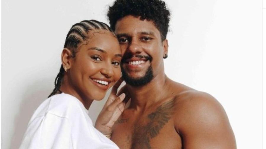 Marcelo Ramos e Kathlen Romeu tinham planos para se casar - Reprodução