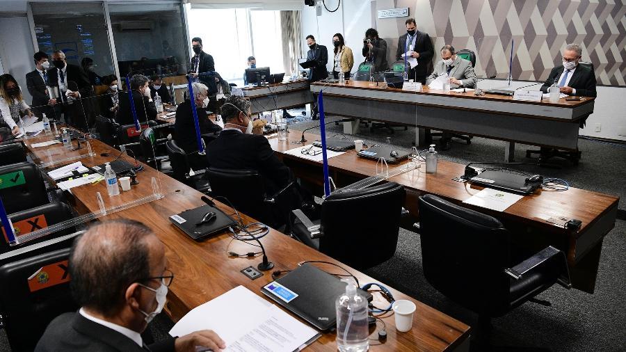 A CPI da Covid, no Senado, aprovou requerimentos para mais um depoimento e quebras de sigilos - Pedro França/Agência Senado