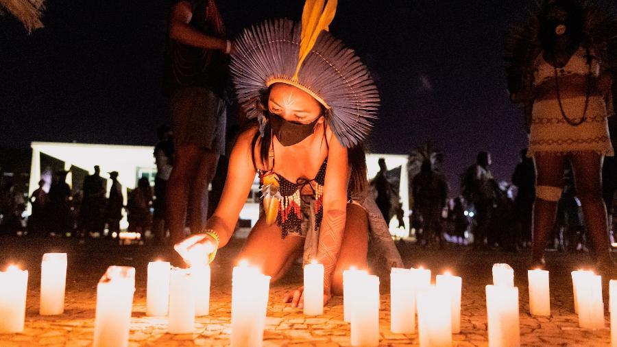 A tese do marco temporal só reconhece terras ocupadas pelos indígenas à época da Constituição de 1988 - Antonio Molina/Estadão Conteúdo
