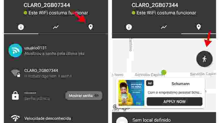 2 - passo a passo encontrar wi-fi aplicativo Instabridge - Reprodução - Reprodução