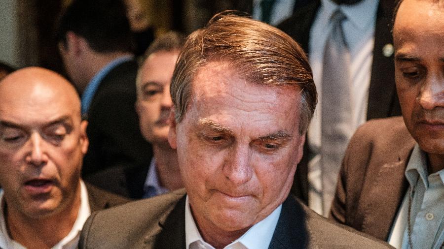 O presidente Jair Bolsonaro chegou de Nova York hoje e ficará isolado por ter tido contato com Marcelo Queiroga, que testou positivo para covid - Por Lisandra Paraguassu