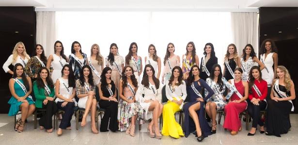 Candidatas ao Miss Brasil 2015; a partir deste ano, evento será organizado pela Polishop - Lucas Ismael/Band