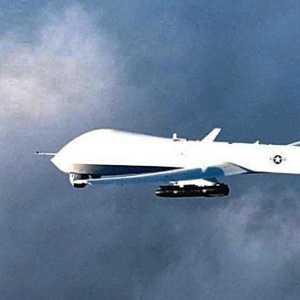 """Míssil """"hellfire"""" é visto em aeronave não-tripulada"""