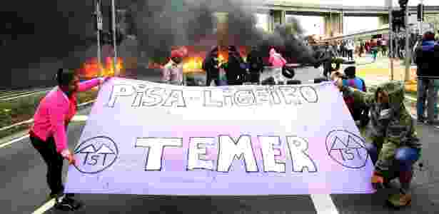MTST temer - Werther Santana/Estadão Conteúdo - Werther Santana/Estadão Conteúdo