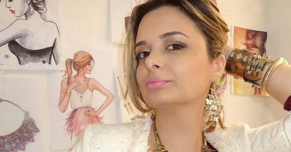 Juliana Fasolin Daniluski é designer de moda e dona da empresa Senhorita JD