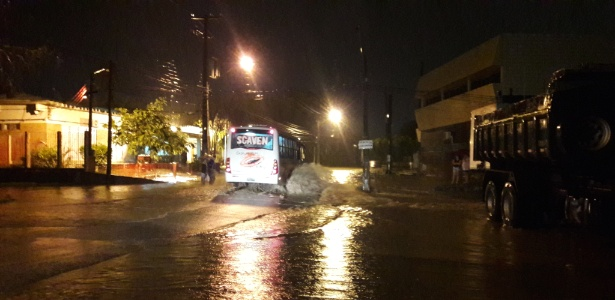A cidade pernambucana de Caruaru registrou o volume de chuva de 220,37 mm