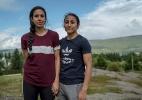 """Casal de jogadoras de futebol relata preconceito até vida em """"oásis"""" na Islândia - ANDREW TESTA/NYT"""