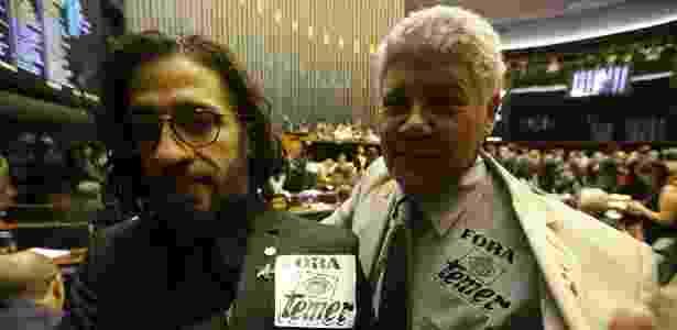 Jean Wyllys e Chico Alencar, deputados do PSOL - Dida Sampaio/Estadão Conteúdo