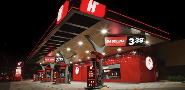 """Posto de combustíveis do grupo Habib""""s na zona leste de São Paulo - Divulgação"""