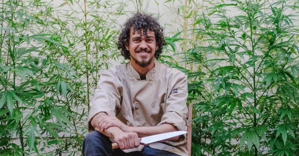 Gustavo Colombeck deixou o Espírito Santo para morar no Uruguai e se tornar um chef canábico