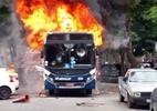 RJ: criança morre ao ser baleada em porta de bar; protesto incendeia ônibus - Reprodução/Rede Social