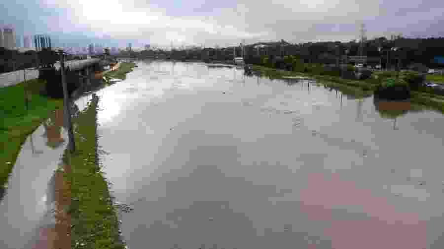 Vista da Ponte Jaguaré, rio Pinheiros - Ronaldo Silva/Futura Press/Estadão Conteúdo
