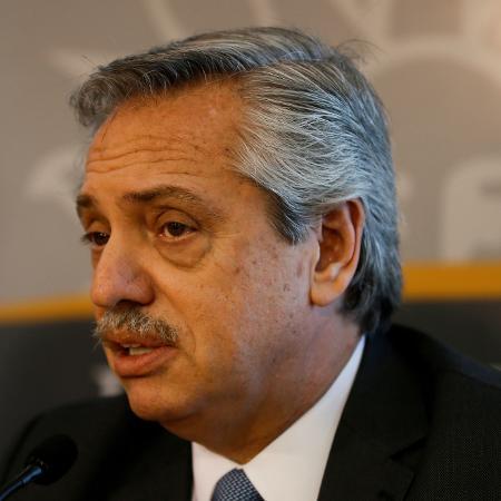 Alberto Fernandez, presidente da Argentina - Mariana Greif/File Photo/Reuters