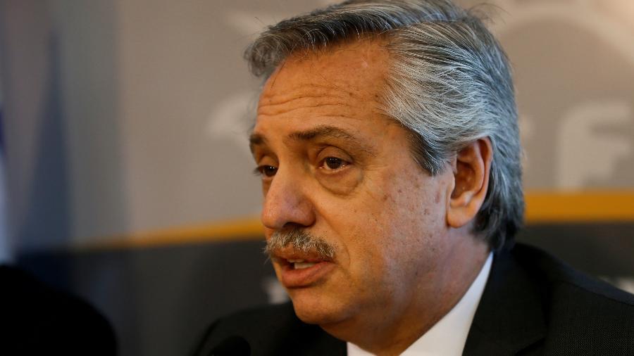 Alberto Fernandez, presidente eleito da Argentina - Mariana Greif/File Photo/Reuters