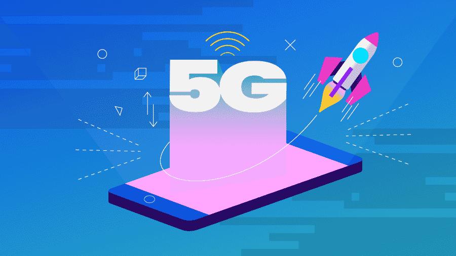 5G oferece velocidades de conexões bem superiores ao 4G. - Estúdio Rebimboca/UOL