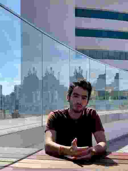 Estudante Davi Silva é bolsista do Insper e vai ao MIT apresentar o seu projeto - Arquivo Pessoal