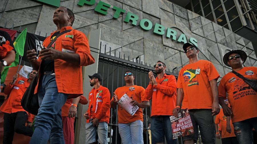 FUP indicou a suspensão provisória da greve - CARL DE SOUZA / AFP