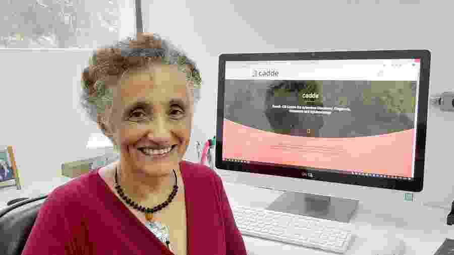 Ester Sabino, coordenadora das pesquisas envolvendo o novo coronavírus  - Divulgação