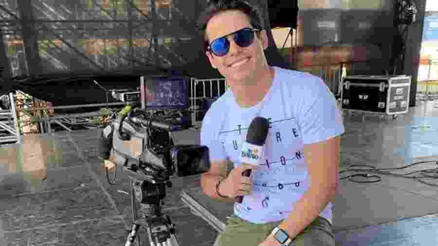 O apresentador Waldemar Neto, da TV Anhanguera - Reprodução/Instagram