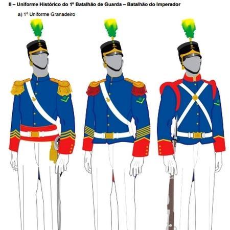 uniformes - Reprodução/RUE - Reprodução/RUE