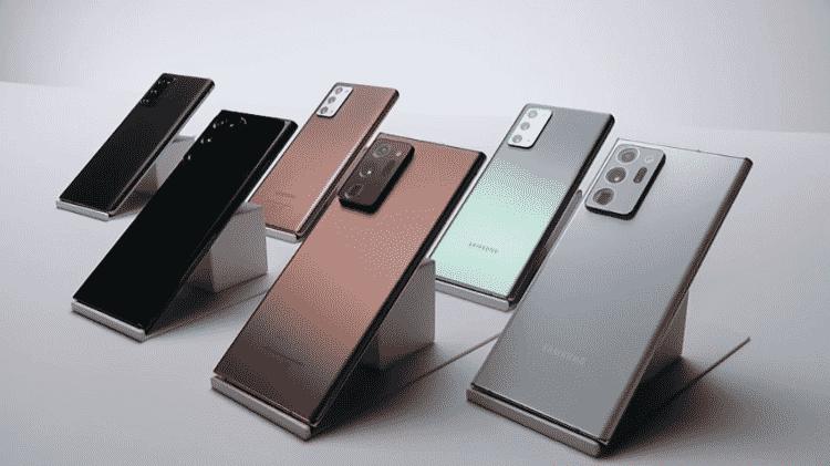 Galaxy Note 20 é lançado pela Samsung - Reprodução - Reprodução