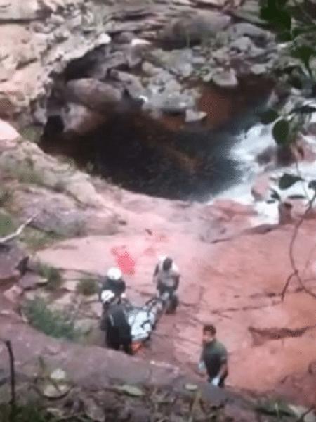 Casal de turistas franceses havia desaparecido em trilha na Chapada Diamantina (BA) - Divulgação/Associação de Condutores de Visitantes do Vale do Capão