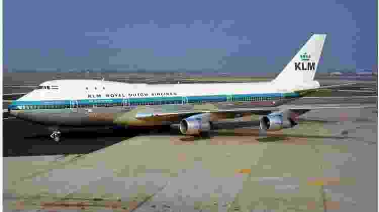 KLM recebeu o primeiro Boeing 747-200 em 31 de janeiro de 1971 - Divulgação - Divulgação