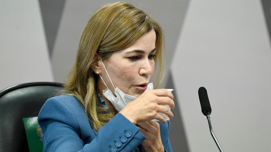 Em entrevista à rádio Jovem Pan, a secretária criticou a atuação da CPI da Covid no Senado - Jefferson RudyAgência Senado