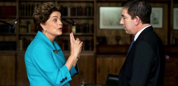 Dilma Rousseff deu entrevista ao jornalista Glenn Greenwald