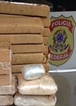 Drogas apreendidas pela Polícia Federal