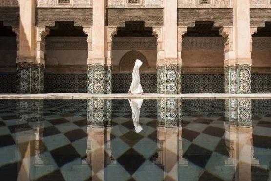 1º.jul.2016 - O primeiro lugar na categoria Cidades foi para Takashi Nakagawa, com o registro deste reflexo na madrassa Ben Youssef, em Marrakesh, no Marrocos