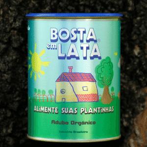 Bosta em Lata, empresa de adubo orgânico - Divulgação