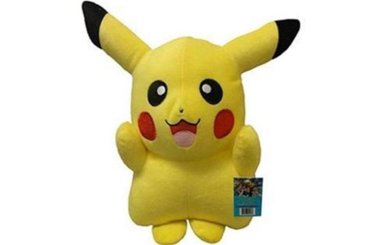 A pelúcia do Pikachu custa R$ 44,90 na Americanas.com