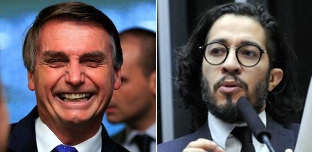Jair Bolsonaro (à esq) e Jean Wyllys divergem sobre eleição Trump
